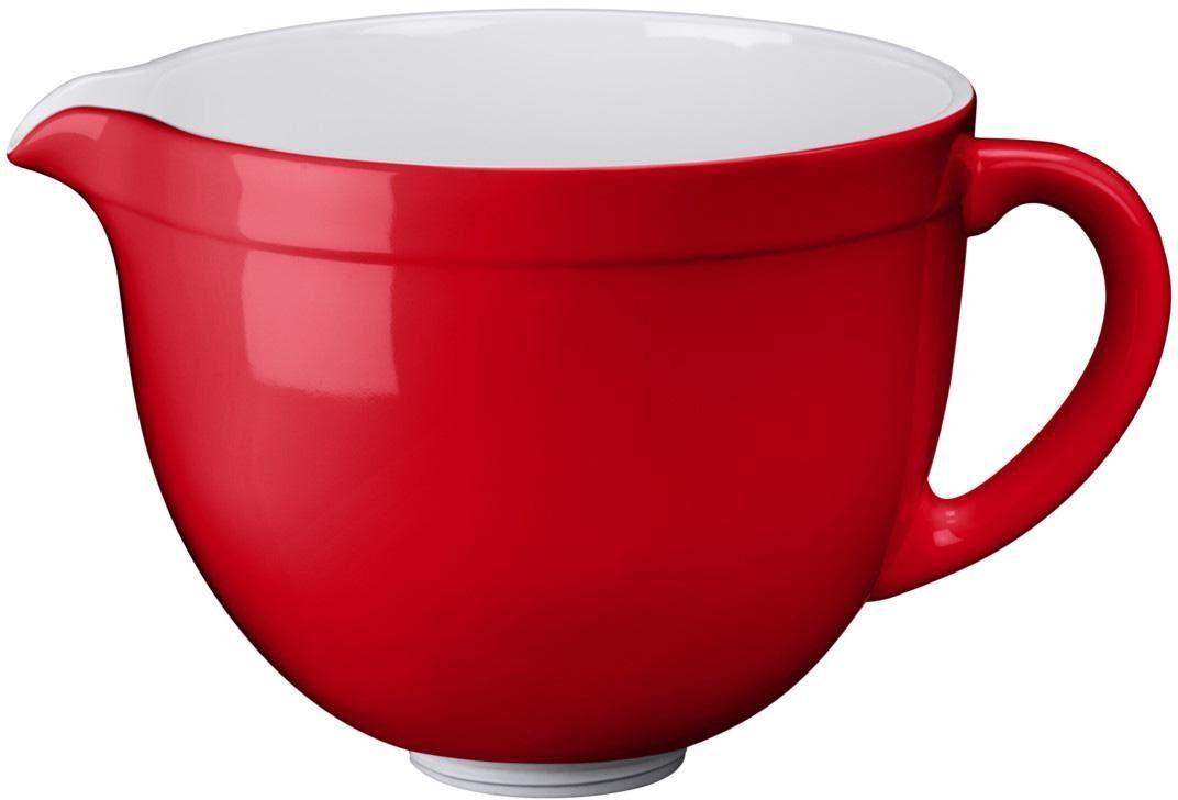 KitchenAid 4,8-L-Keramikschüssel 5KSMCB5ER, NUR für KitchenAid mit kippbarem Motorkopf