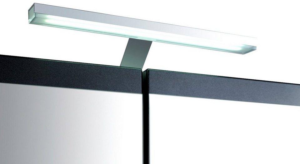 LED-Aufbauleuchte »Round« in silberfarben