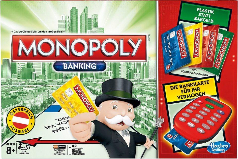 Hasbro Familien-Spiel, »Monopoly Banking - österreichische Version«