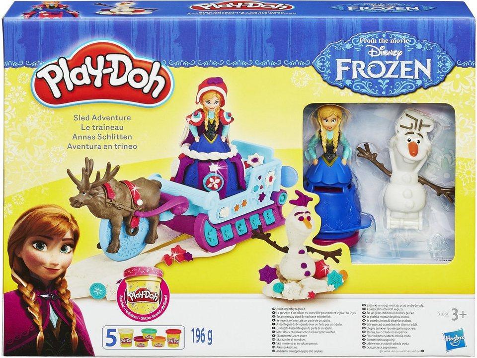Hasbro Spiel- und Knetset, »Play-Doh - Frozen Anna`s Schlitten«