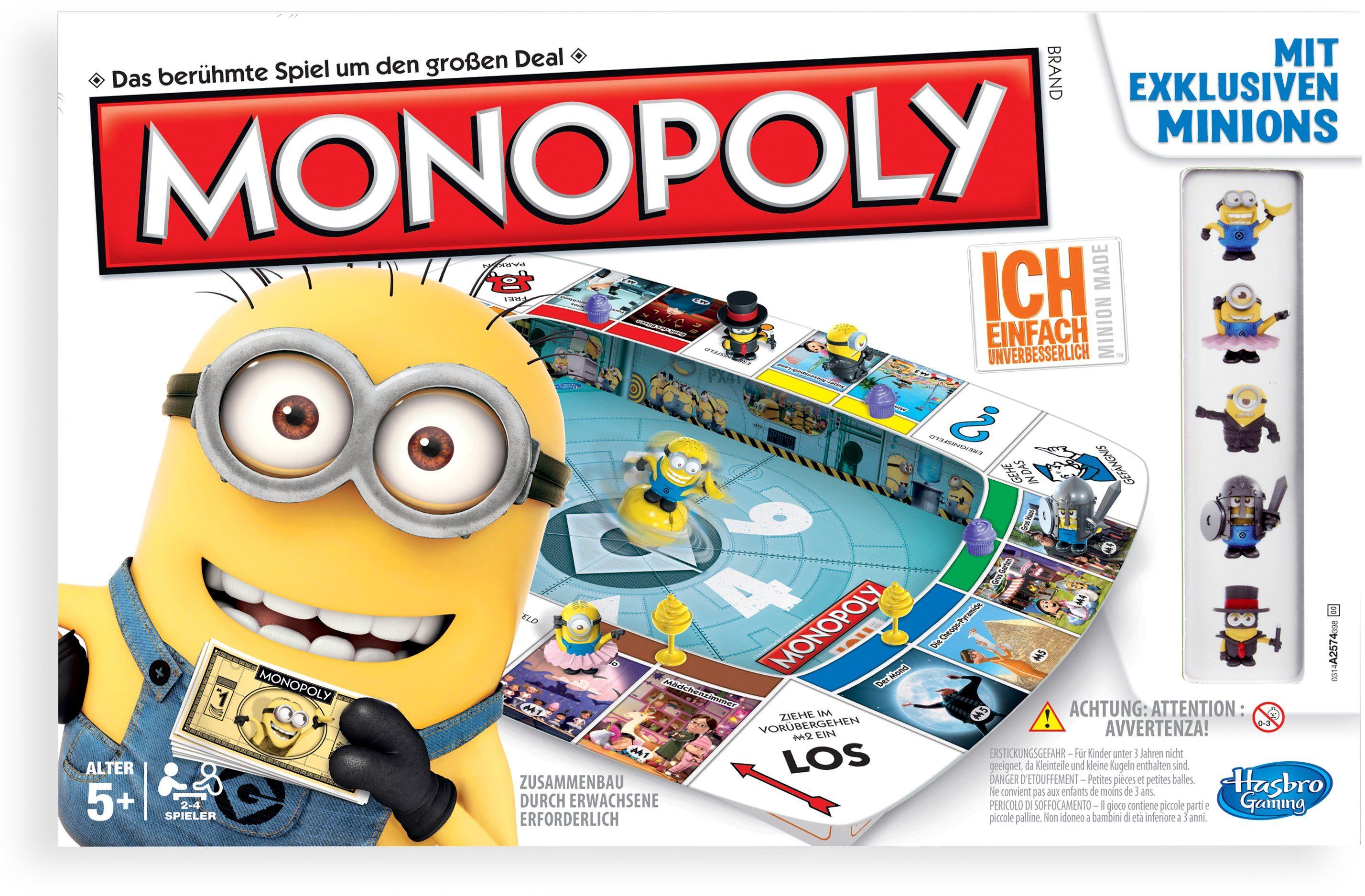 Hasbro, Familien-Spiel, »Monopoly Ich - Einfach unverbesserlich«