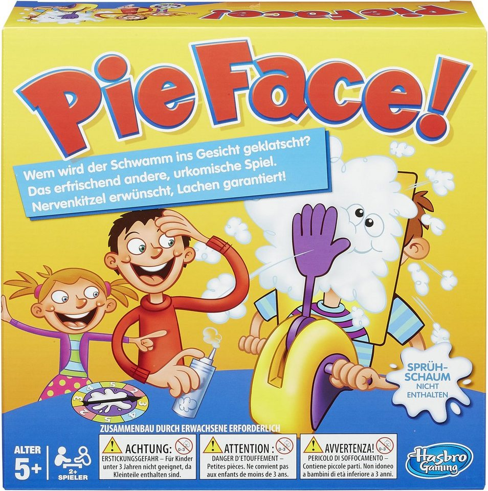 Hasbro Kinderspiel, »Pie Face«
