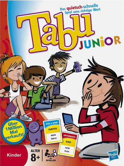 Hasbro Spiel, »Tabu Junior«, Made in Europe