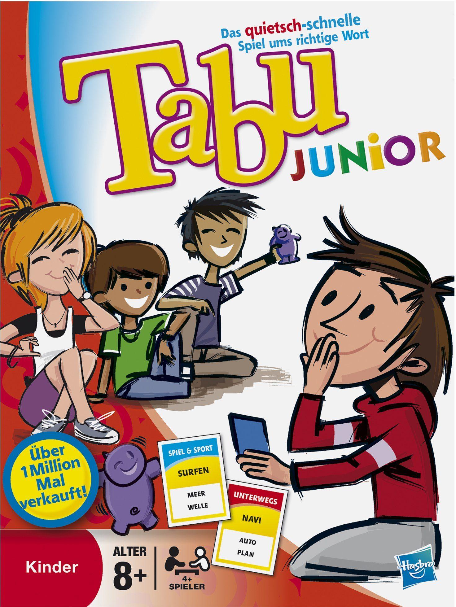 Hasbro, Spiel, Tabu Junior