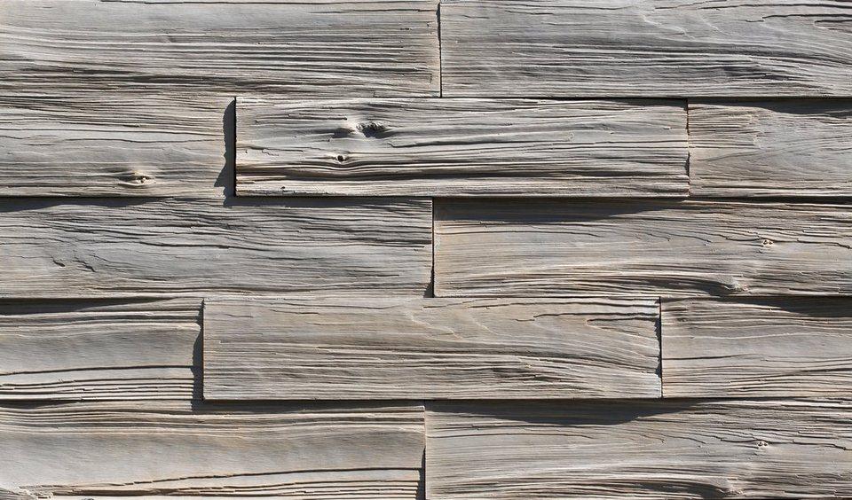 Verblendsteine »Timber«, grau in grau