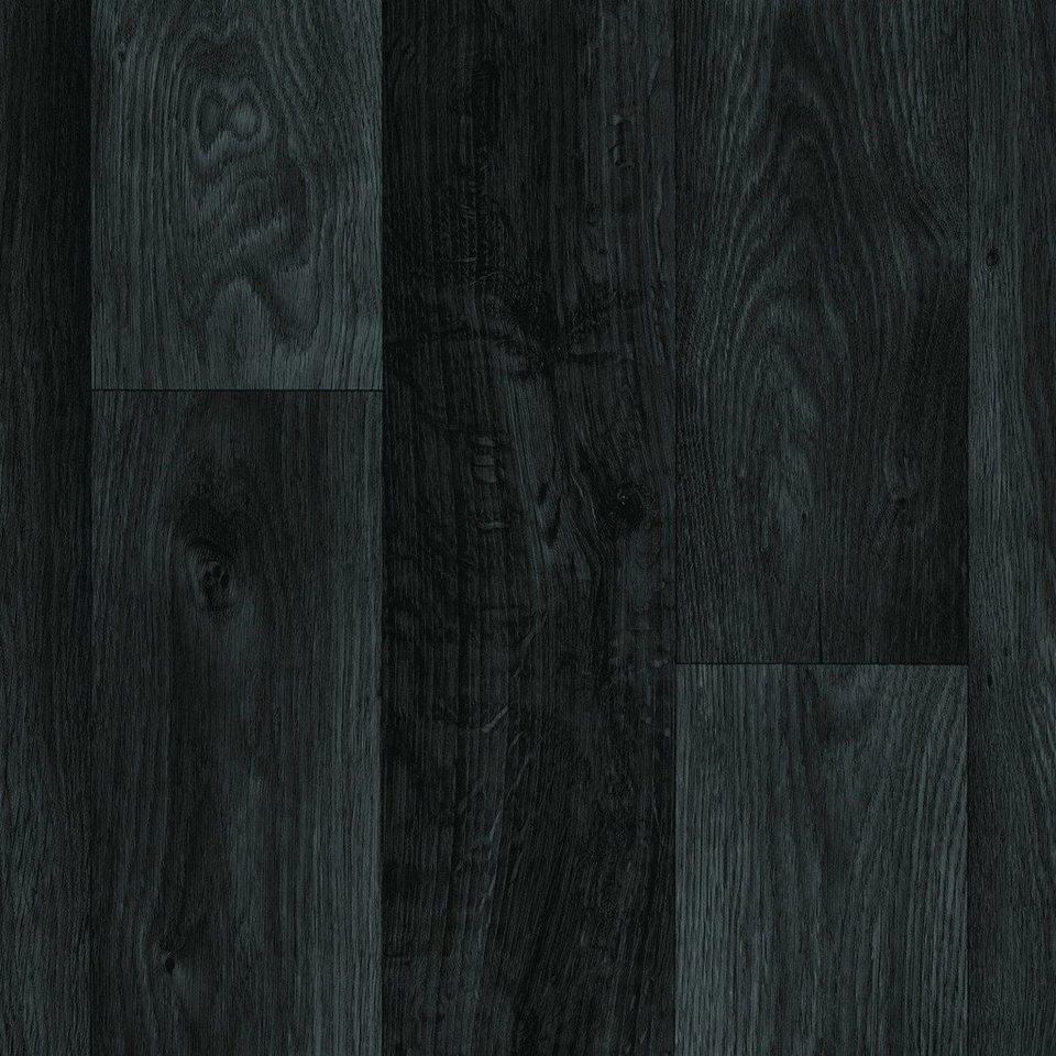 PVC-Boden »Sonic«, Stab-Optik schwarz Nachbildung in schwarz