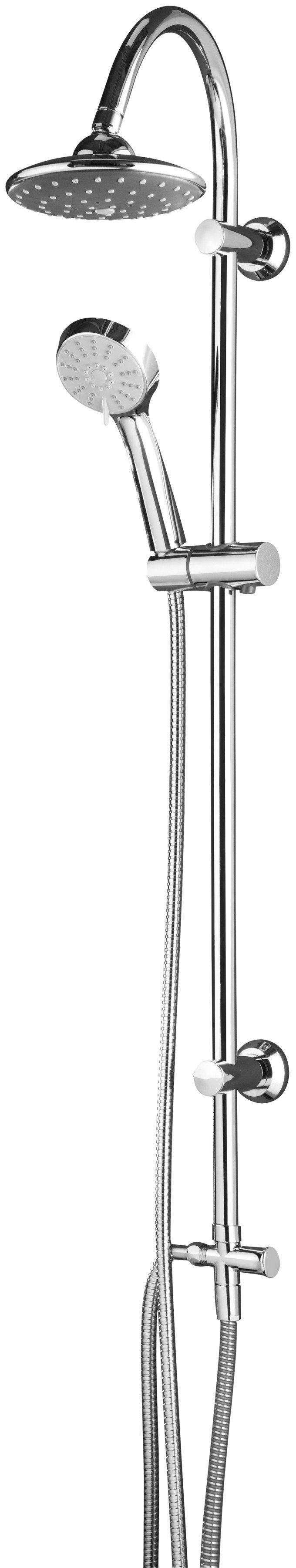 Überkopfbrause - Set »Ibiza«, Kopfbrause, 15 cm