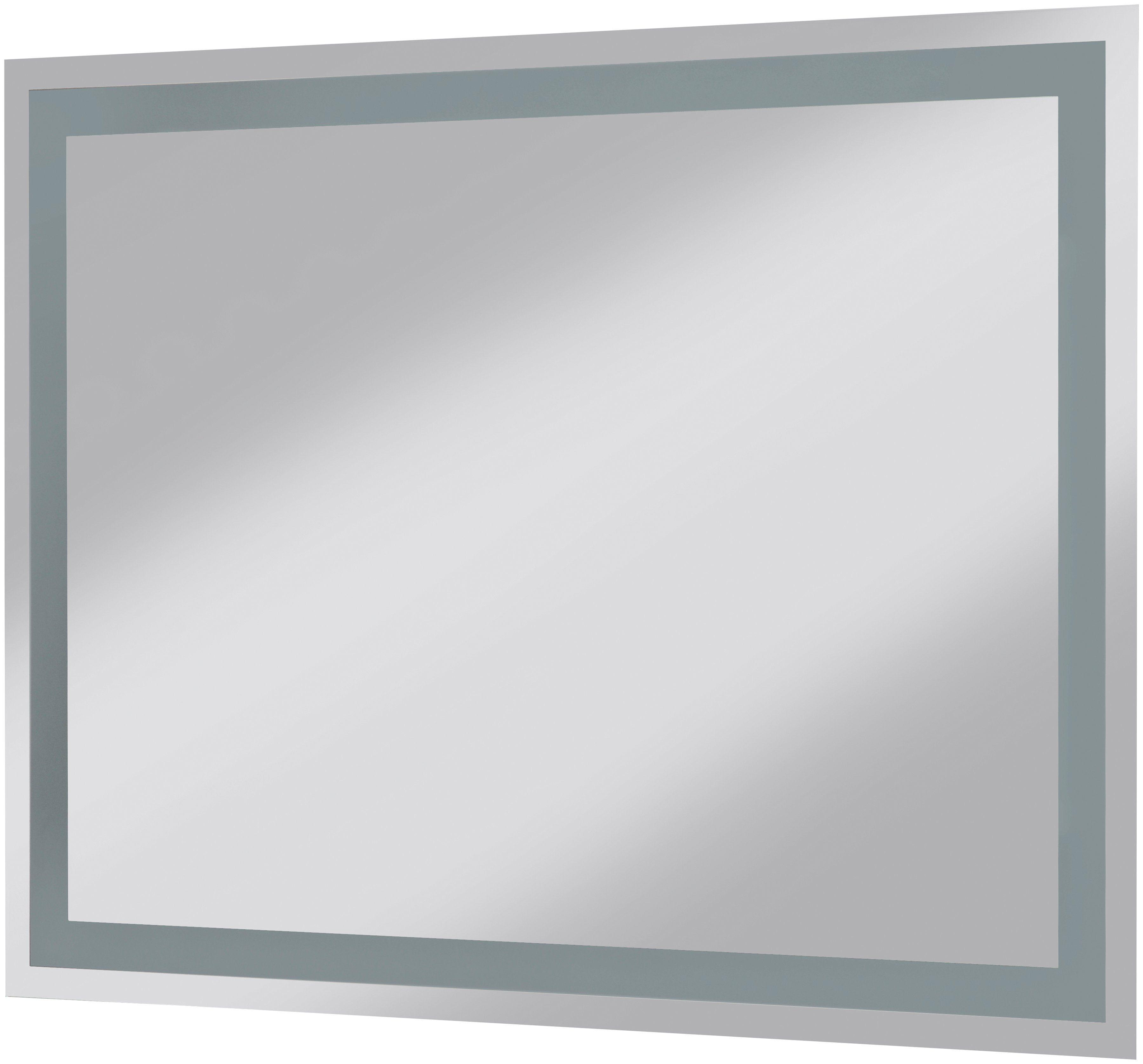 Posseik Spiegel / Badspiegel »York«, Breite 80 cm, mit Beleuchtung