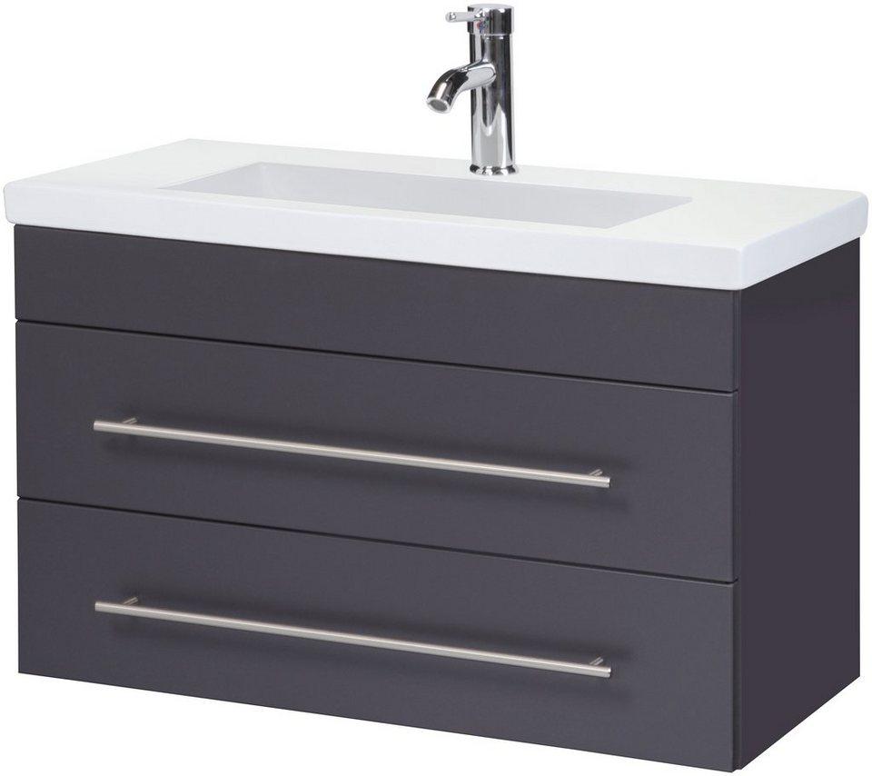 waschtisch york breite 80 cm tiefe 36 cm 2 tlg. Black Bedroom Furniture Sets. Home Design Ideas