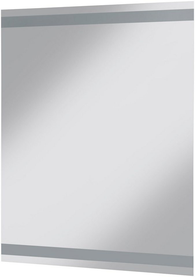 Spiegel / Badspiegel »York«, Breite 70 cm, mit Beleuchtung in transparent
