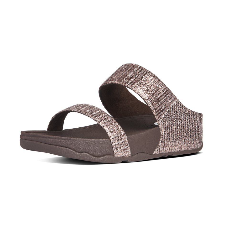 FitFlop Pantolette in braun