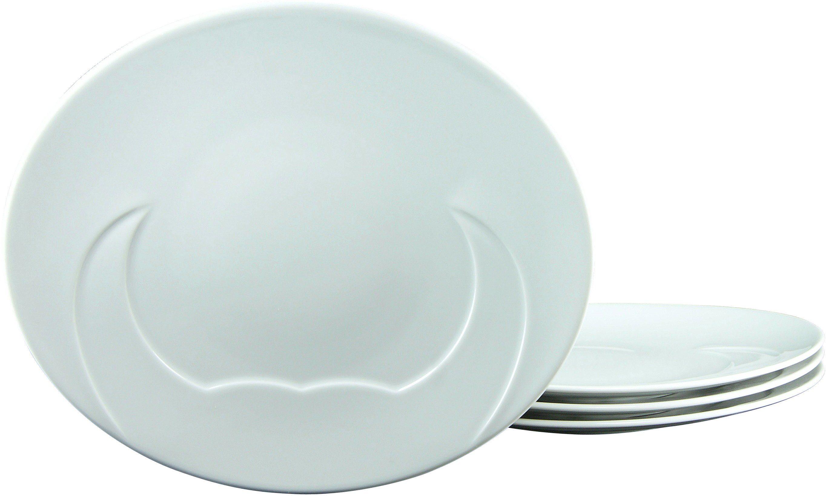 CreaTable Grillteller, Porzellan, 30 cm, »MEAT« (4 Stck.)