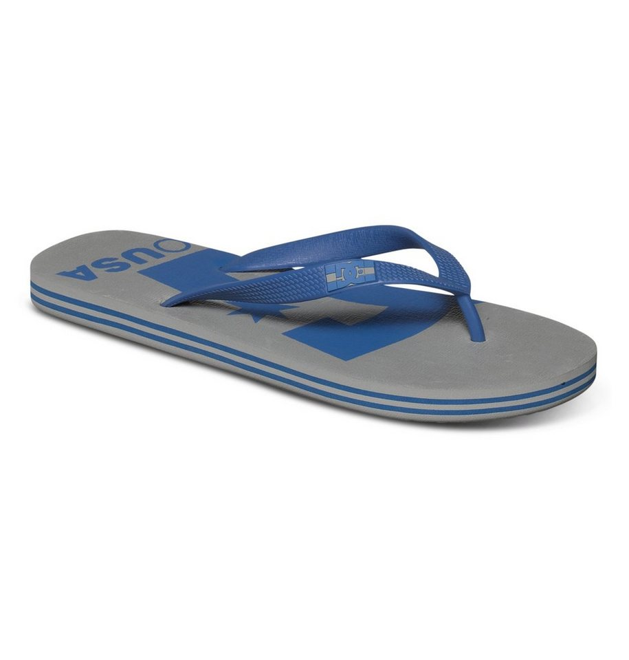 DC Shoes Sandalen »Spray Logo« in grey/blue