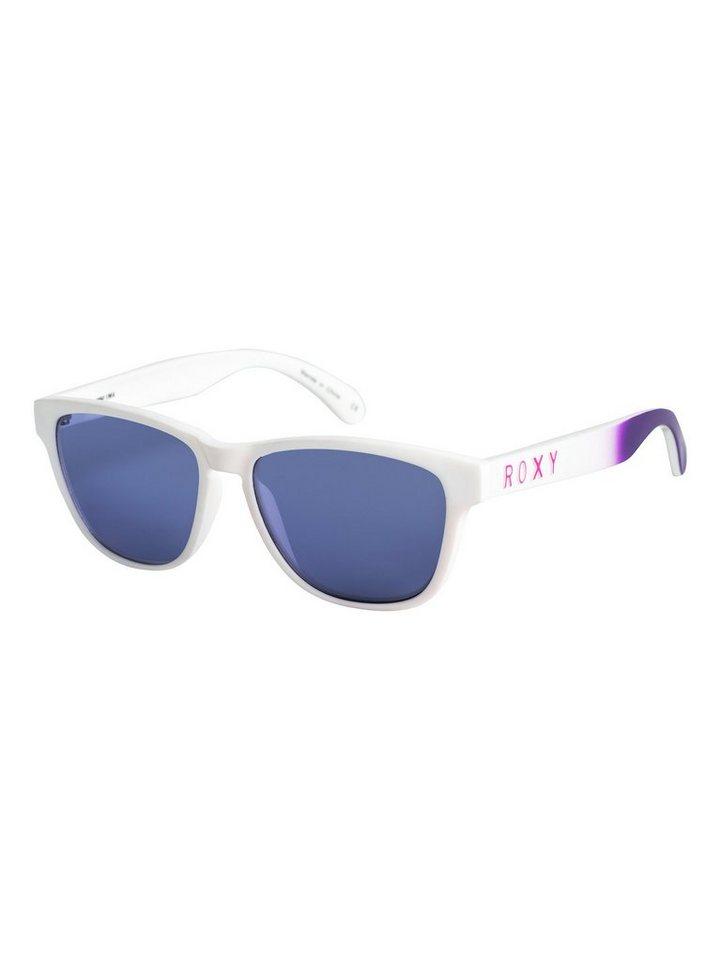 Roxy Sonnenbrille »Mini Uma« in White/flash purple