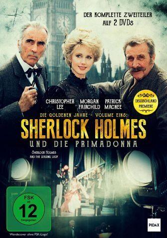 DVD »Sherlock Holmes und die Primadonna (2 Discs)«