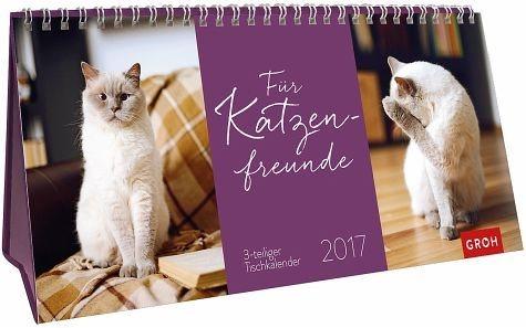 Kalender »Für Katzenfreunde 2017«