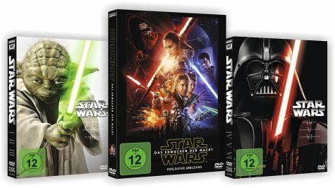 DVD »Star Wars: The Complete Saga I-VII Bundle Set«