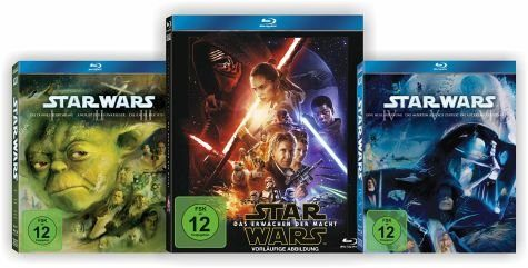 Blu-ray »Star Wars: The Complete Saga I-VII Bundle Set«