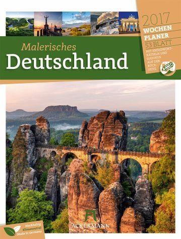 Kalender »Deutschland 2017 - Wochenplaner«