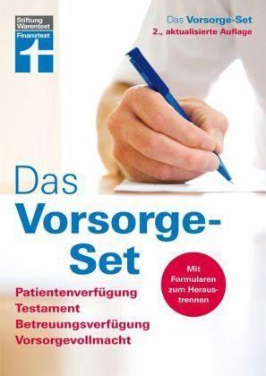 Broschiertes Buch »Das Vorsorge-Set«