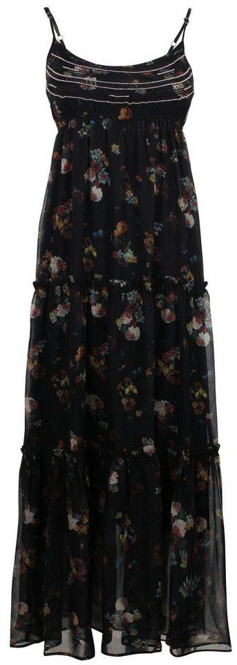 Usha Kleid in dark fleur