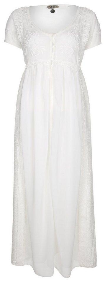Usha Kleid in wollweiß