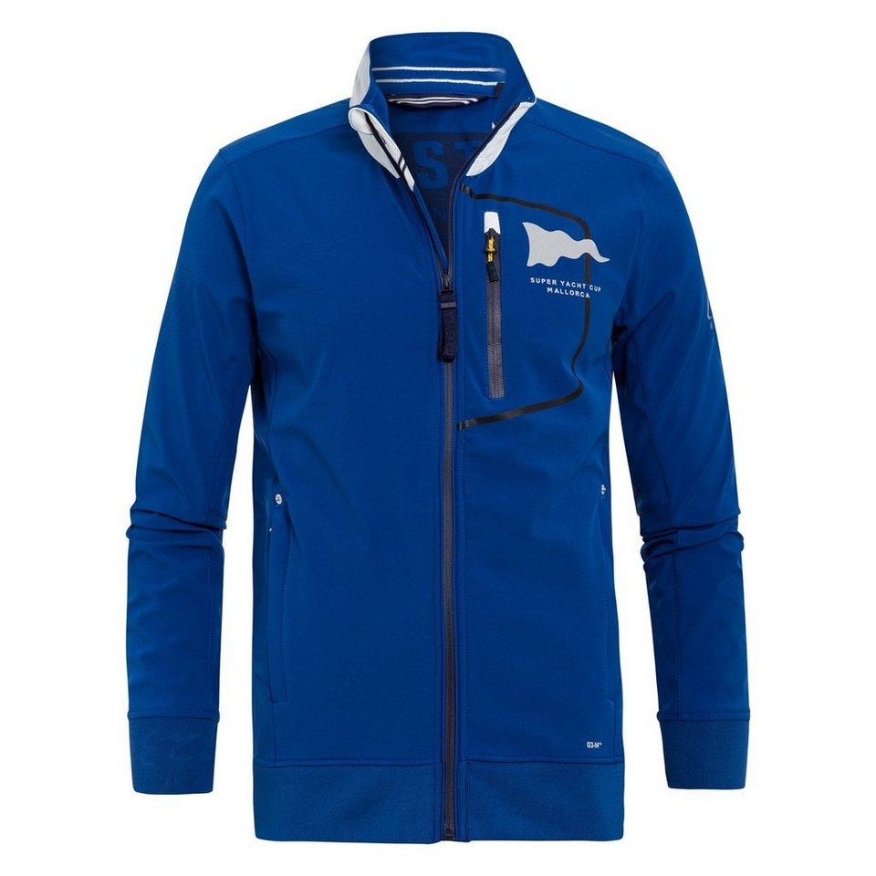 Gaastra Softshelljacke in blau