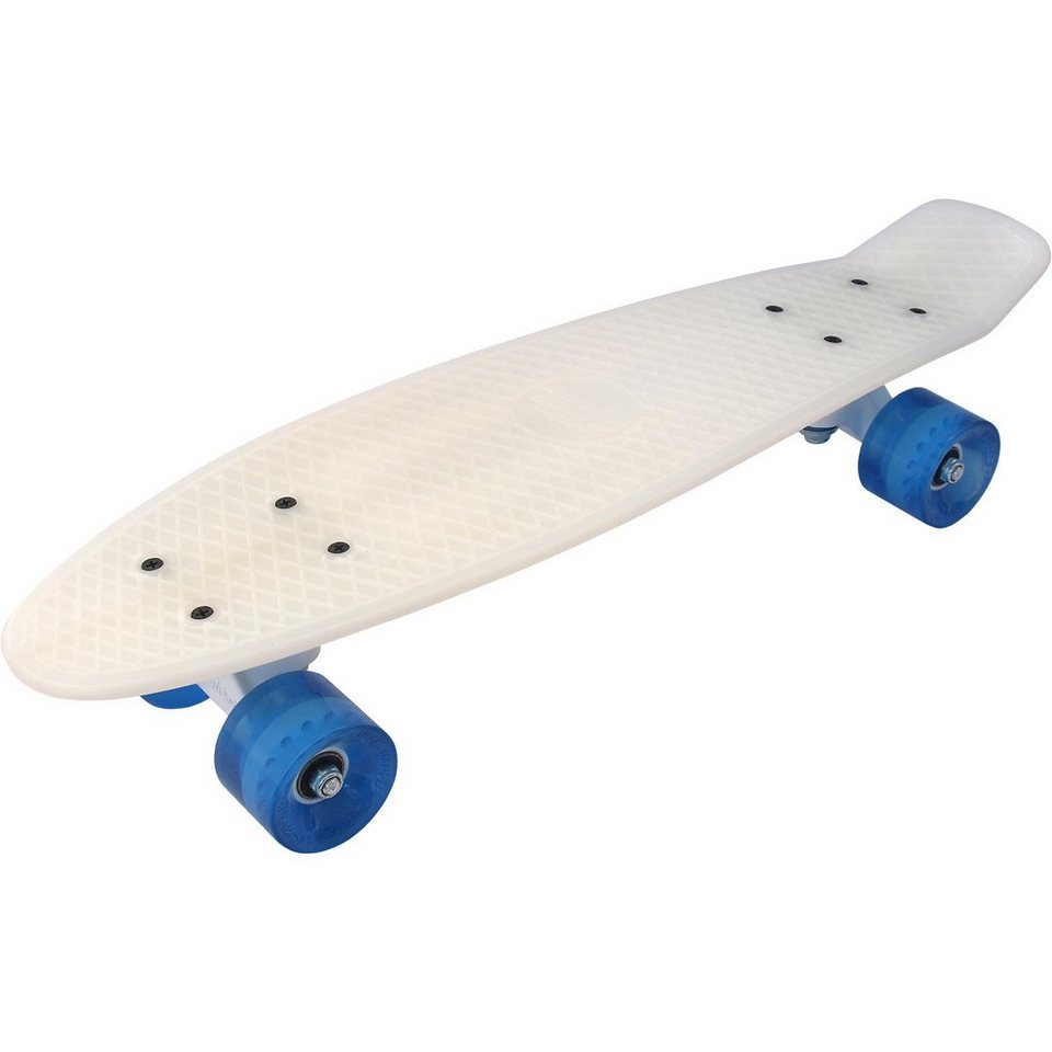 Streetsurfing ® Beachboard - Milky Blue in weiß