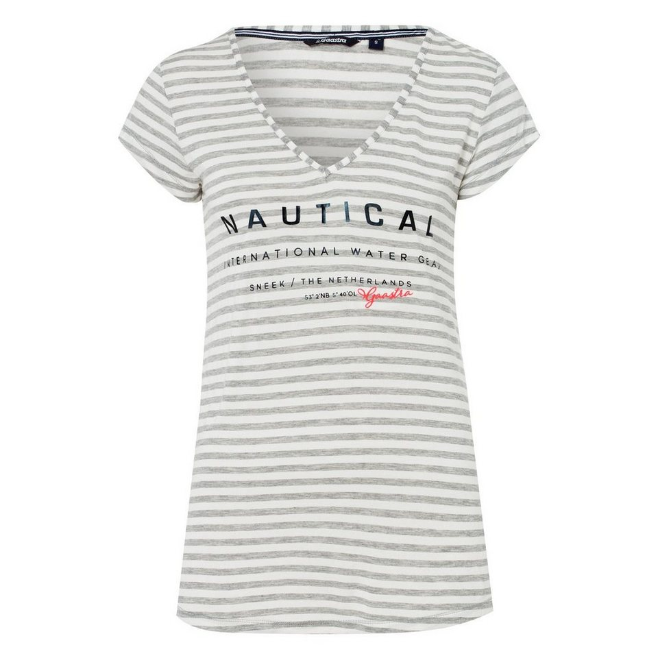 Gaastra T-Shirt in grau