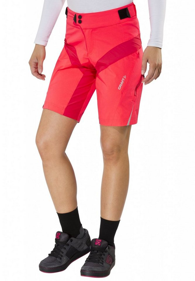 Craft Radhose »X-Over Shorts Women« in rot