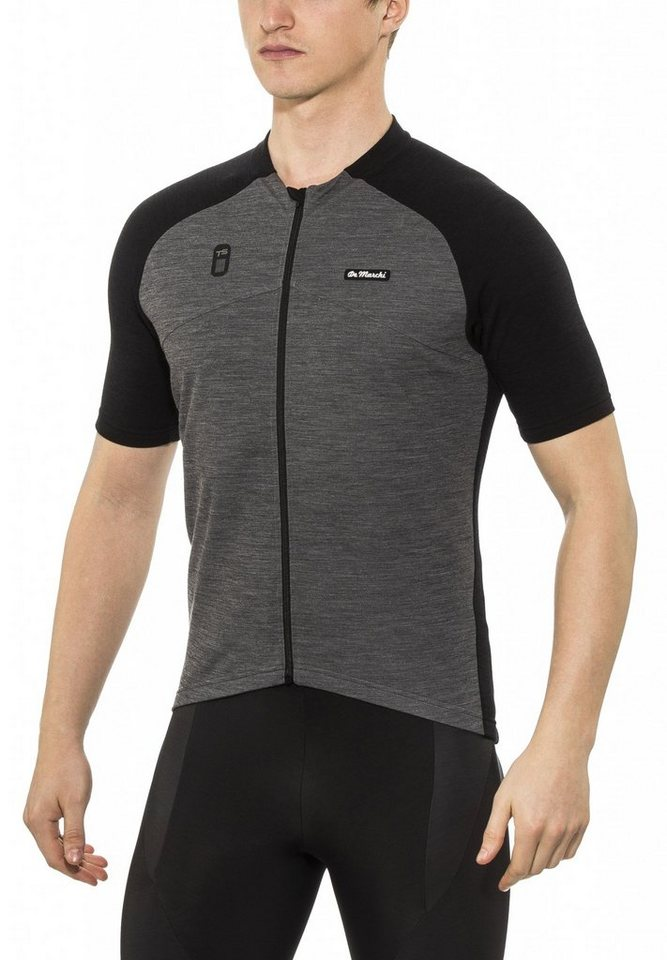 De Marchi Radtrikot »Wind Jersey Men« in schwarz