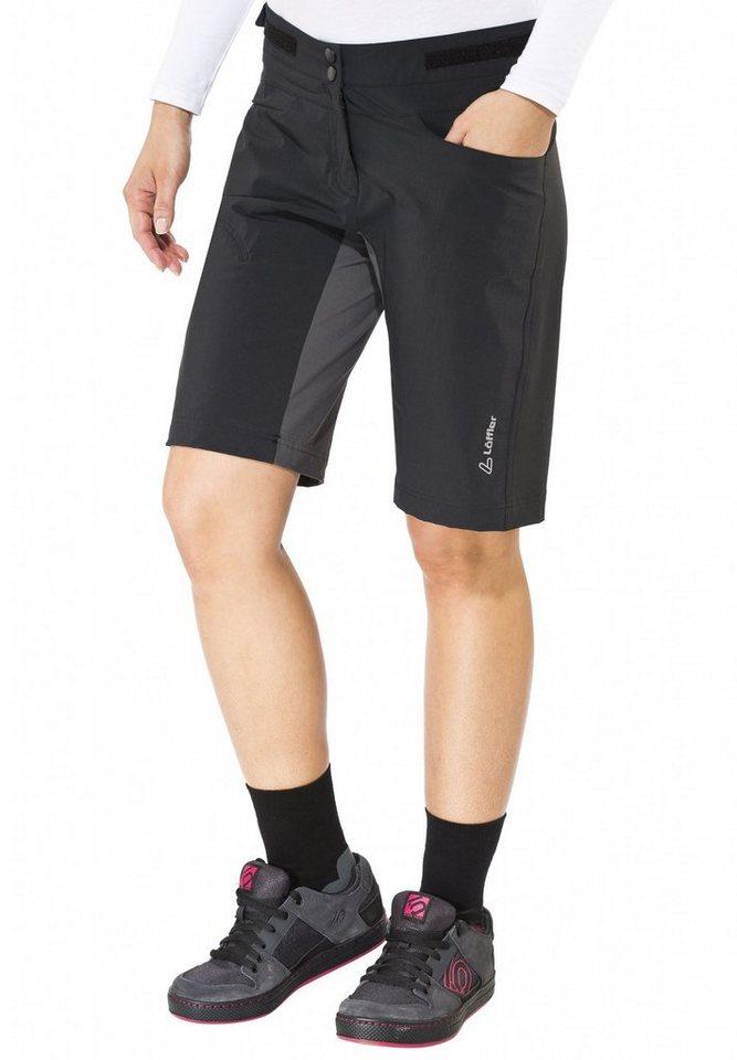 Löffler Radhose »Sportina CSL Bike Shorts Damen« in schwarz
