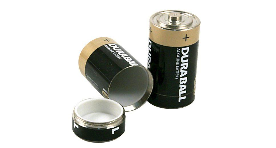 Basic Nature Wertsachenaufbewahrung »Undercover Batterie Dosensafe 2 Stück«