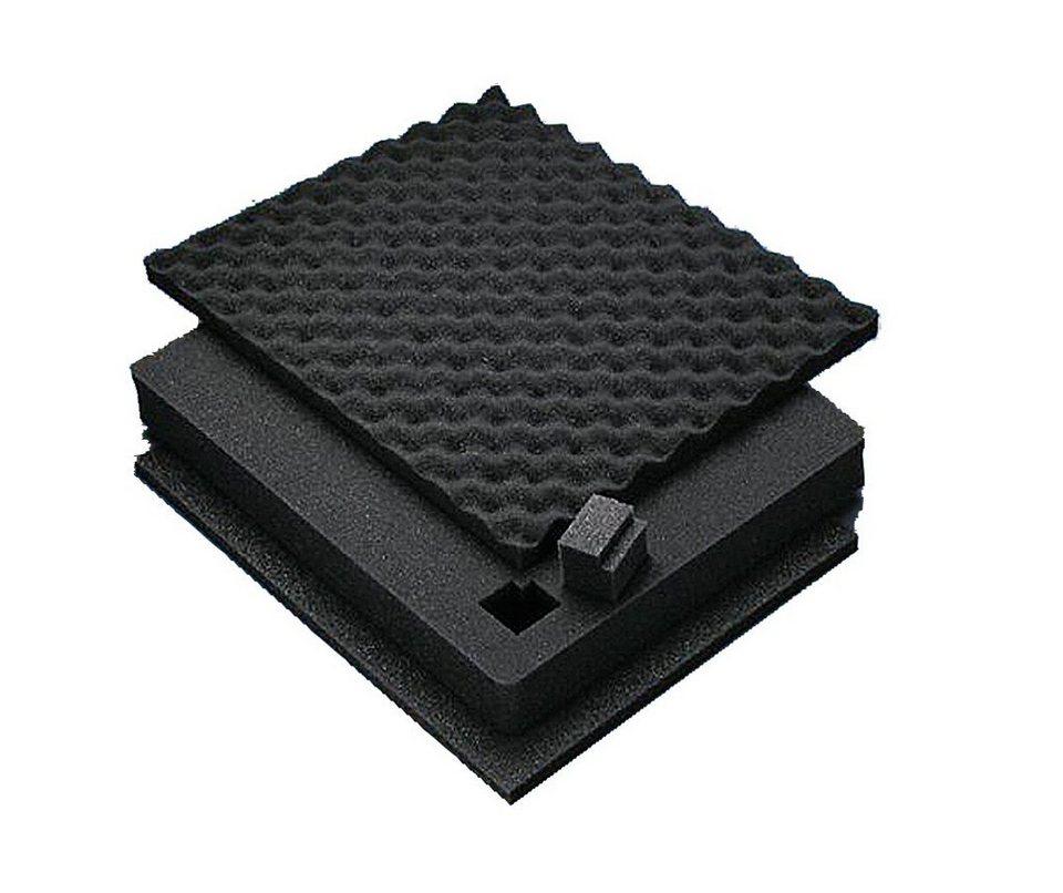 Peli Campingtruhe & -Kiste »Schaumeinsatz für Box 1400« in schwarz