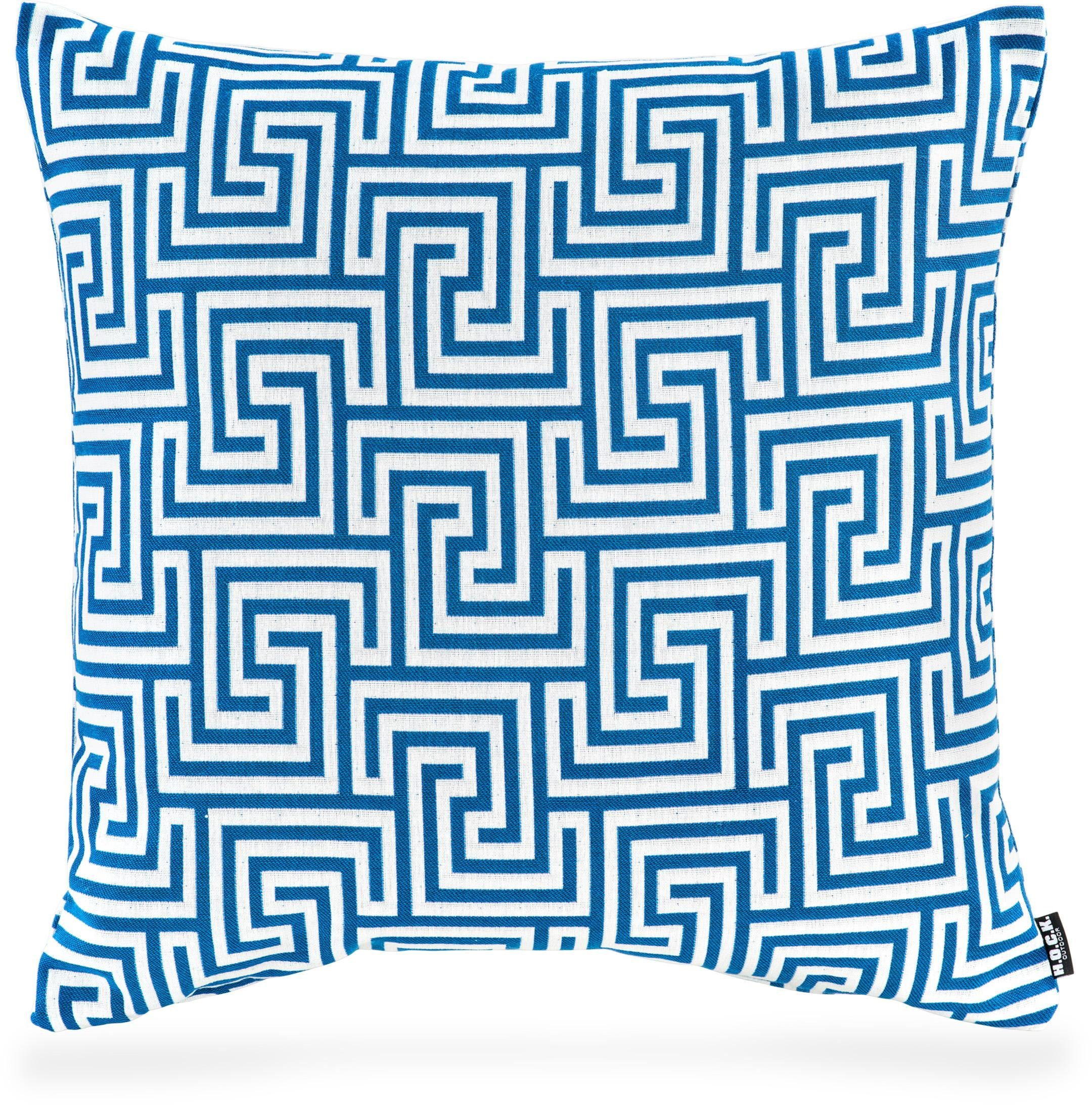 Hock Outdoor-Kissen »Gauzy blue No 16«, 50/50 cm