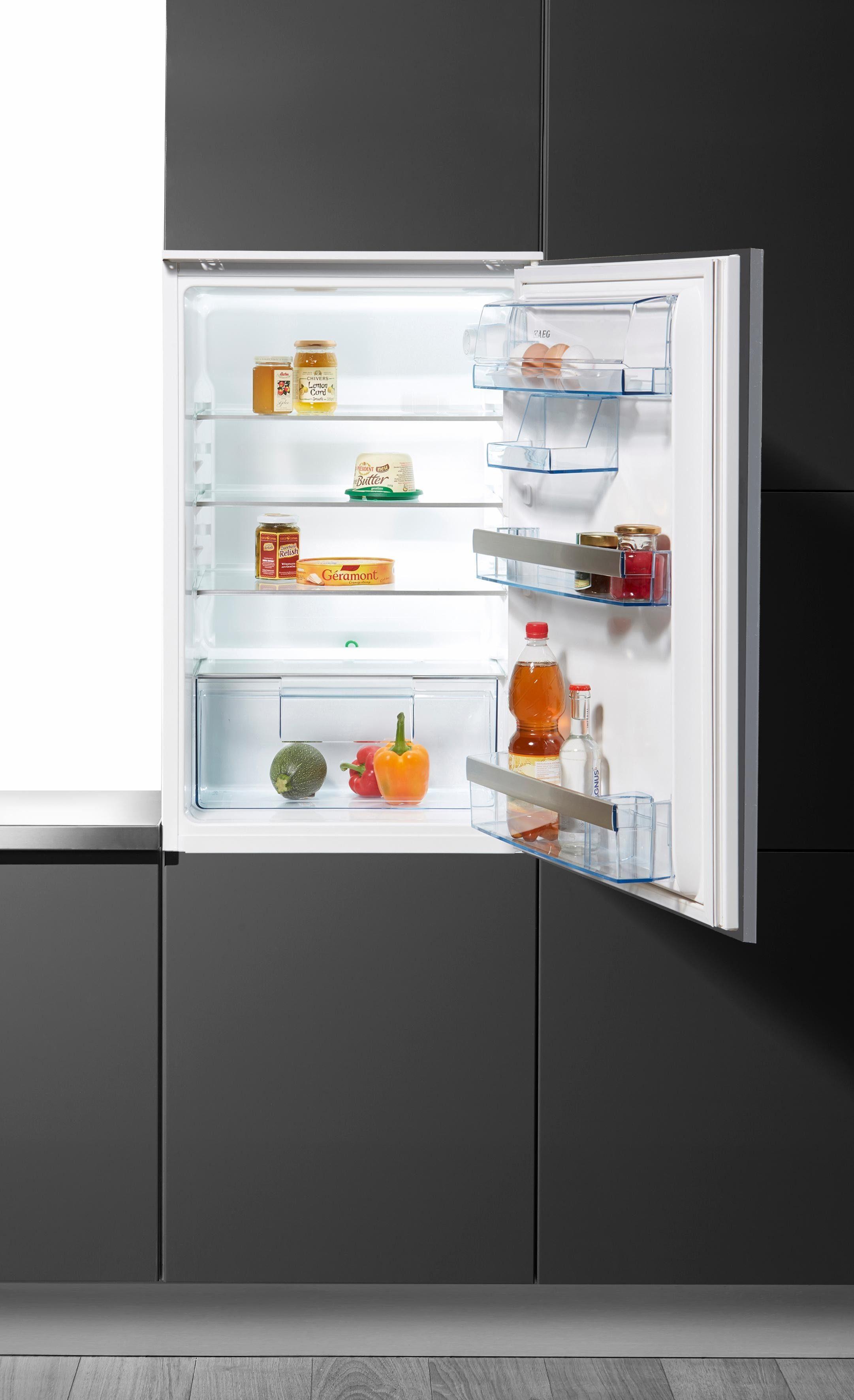 AEG integrierbarer Einbaukühlschrank Santo / SKA98800S3, Energieklasse A+++, 87,30 cm hoch