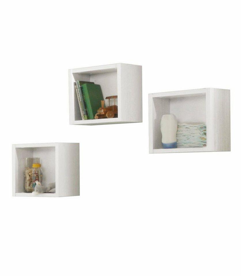 Hängeregal-Set (3-tlg) passend zu den Babymöbel Serien Danny und Granny, in anderson pine in anderson pine