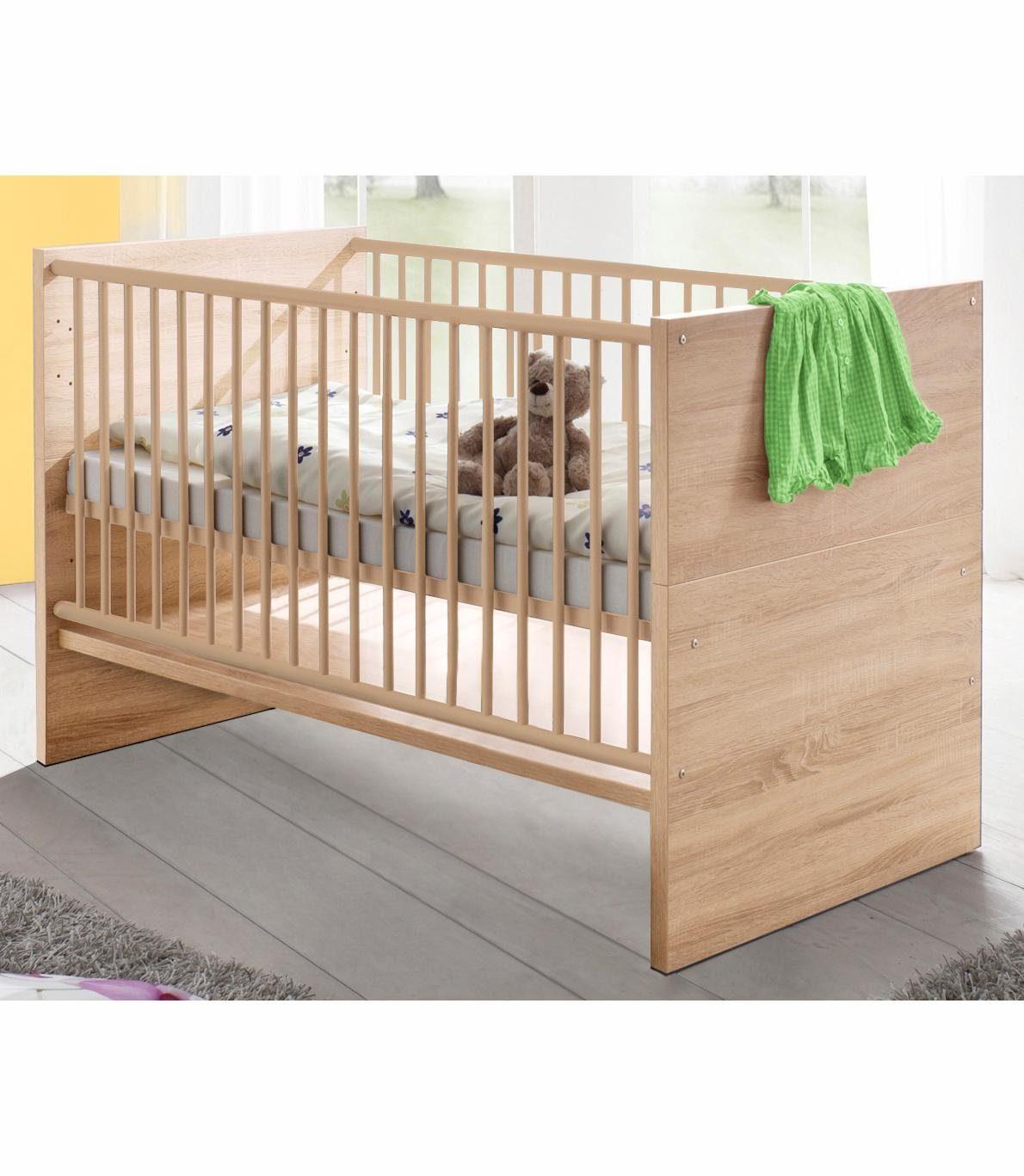 Babybett »Olek«, in eiche sägerau