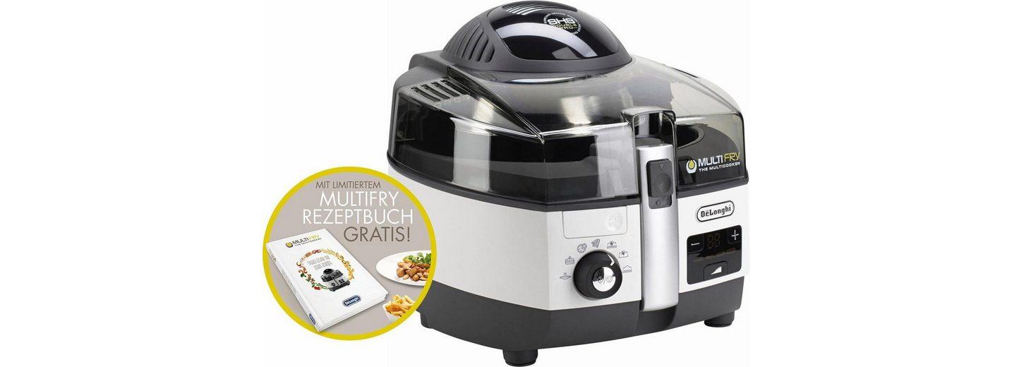 De'Longhi Heißluftfritteuse & Multicooker »MultiFry EXTRA CHEF FH1394/1«, 1400 Watt, 1,5 Liter