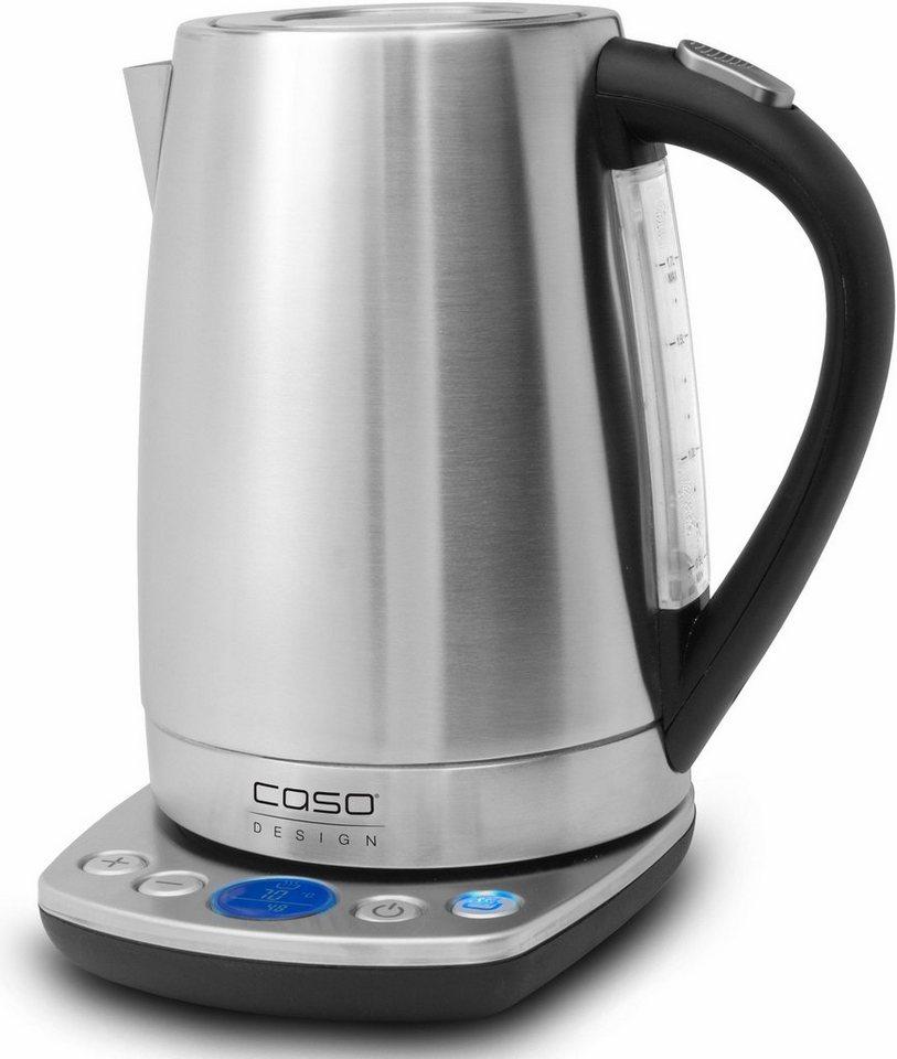 CASO Design Wasserkocher CASO WK2200, 1,7 Liter, 2200 Watt in edelstahl