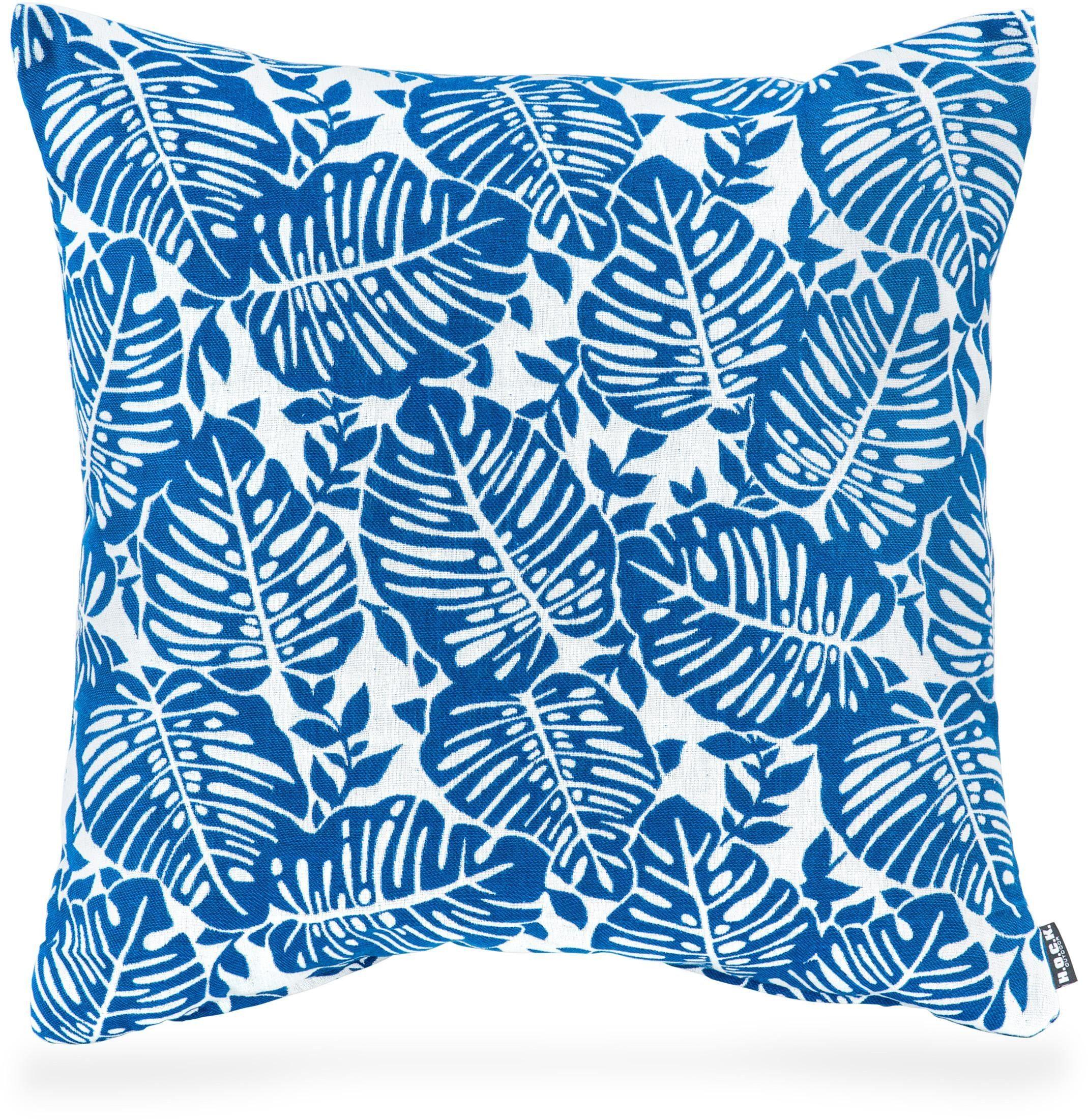 Hock Outdoor-Kissen »Globe blue No 26«, 50/50 cm