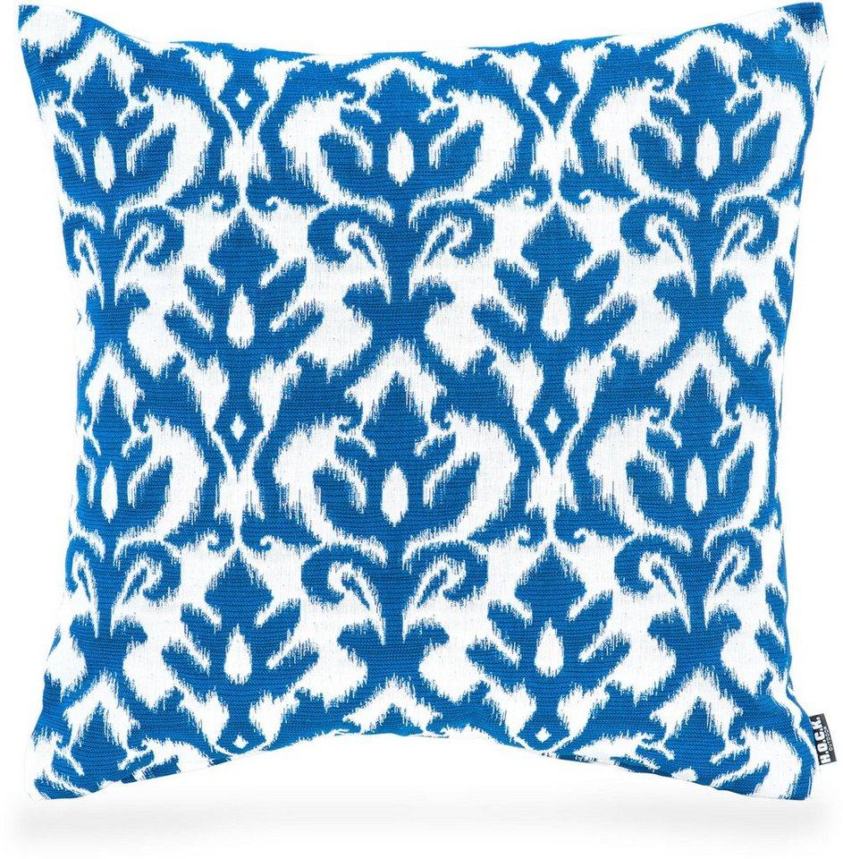 Hock Outdoor Kissen »Gorsay blue No 16«, 50/50 cm in blau