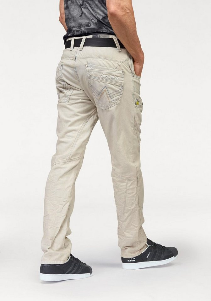 Cipo & Baxx Loose-fit-Jeans in bleached