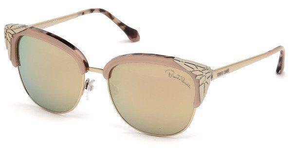 Roberto Cavalli Damen Sonnenbrille » RC1014« in 74L - rosa/braun