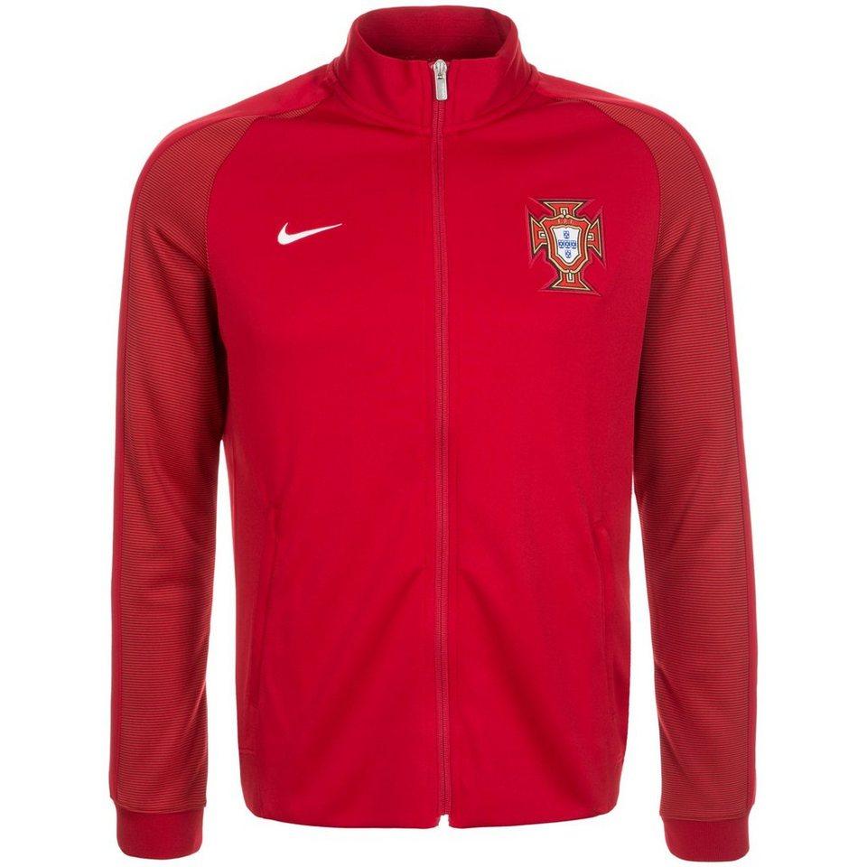 NIKE Portugal Authentic N98 Trainingsjacke EM 2016 Herren in rot