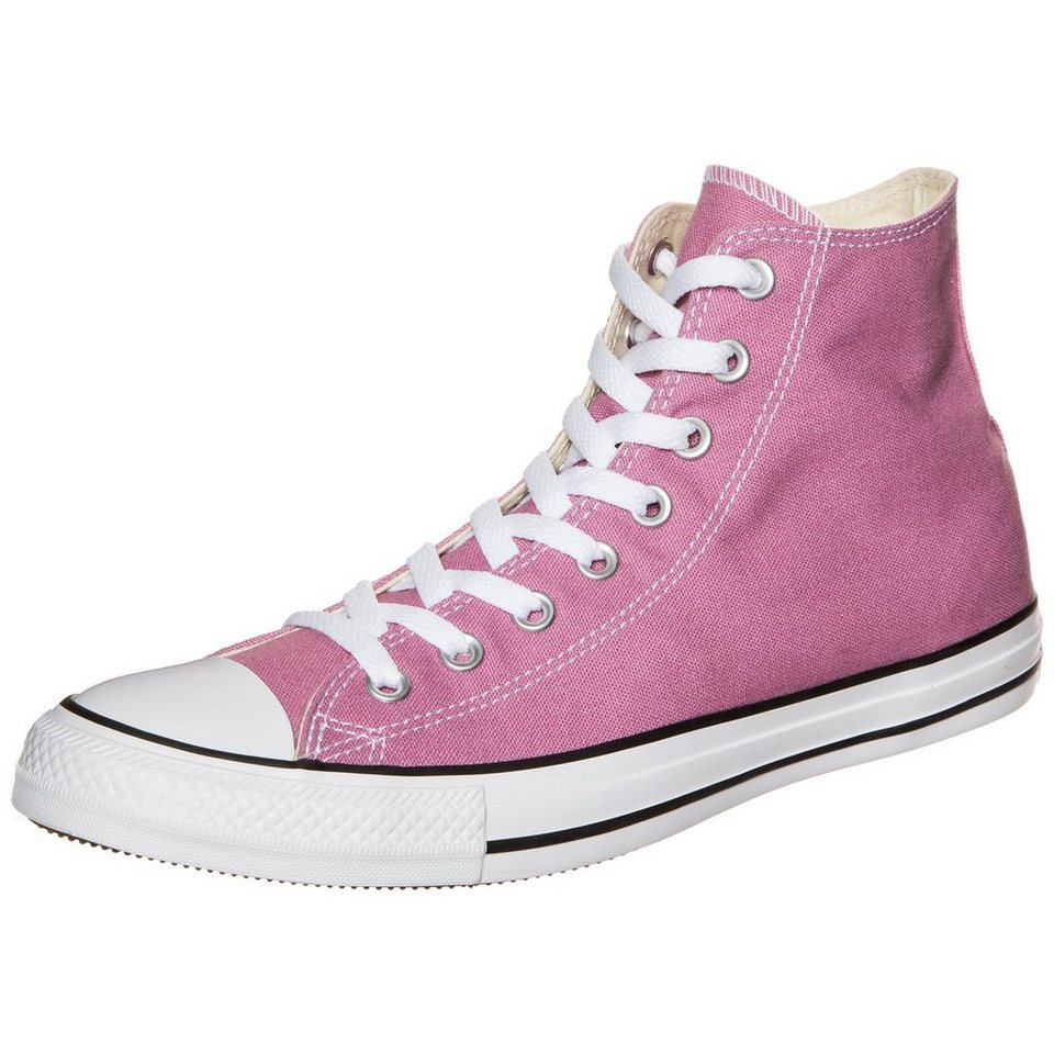 CONVERSE Chuck Taylor All Star High Sneaker in rosa / weiß