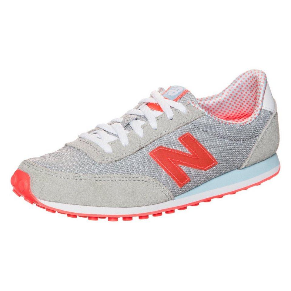 NEW BALANCE WL410-PKA-B Sneaker Damen in grau / orange / weiß
