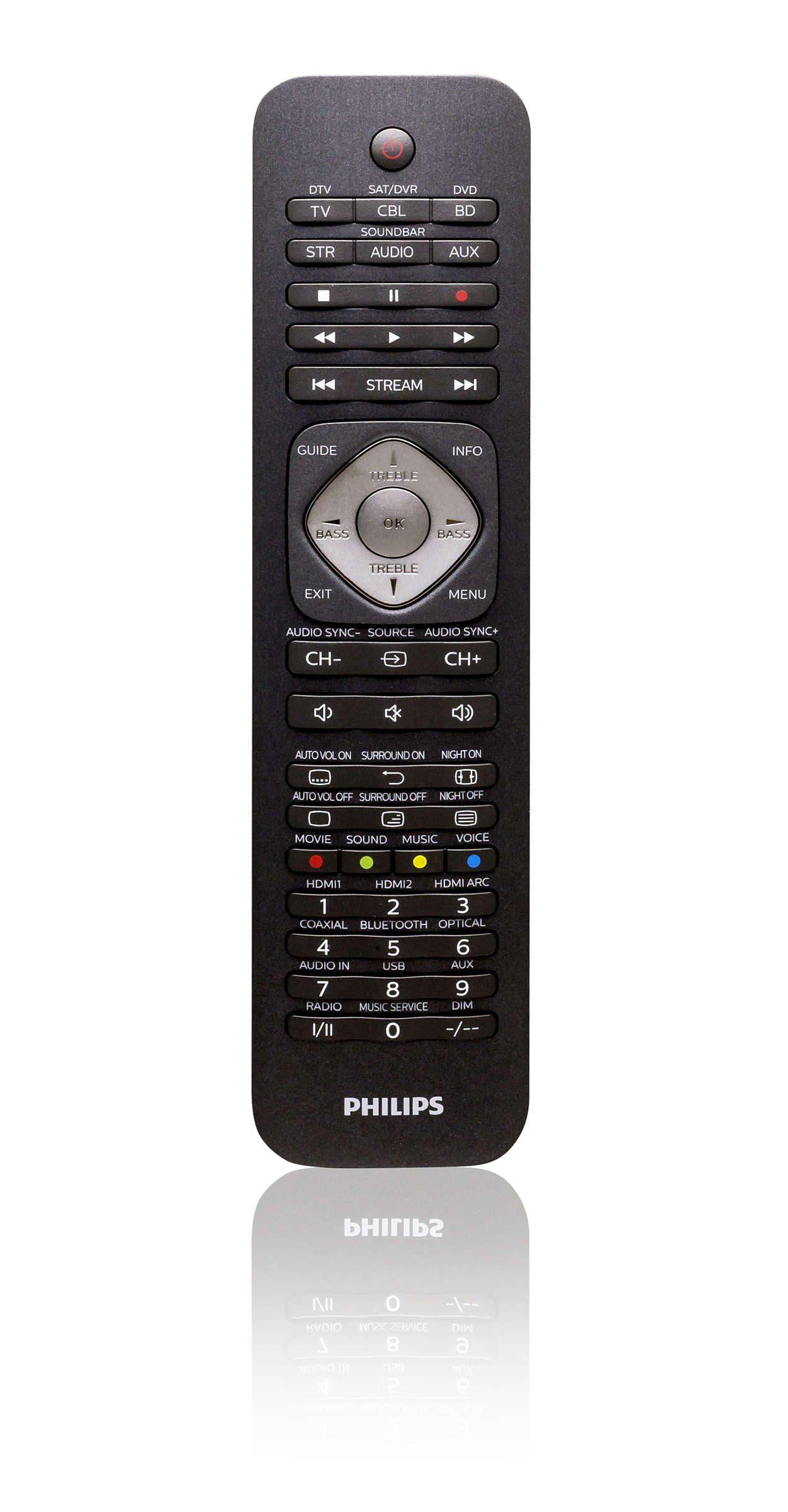 Philips Fernbedienung »SRP5016/10«