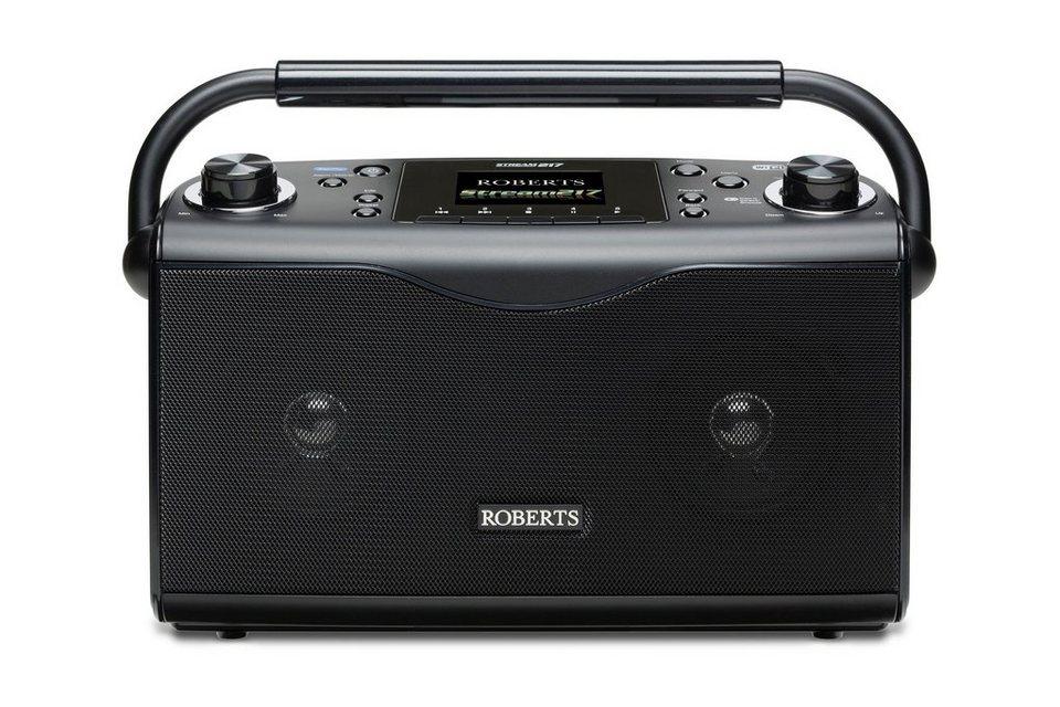 Roberts Radio Internetradio »Stream 217« in schwarz