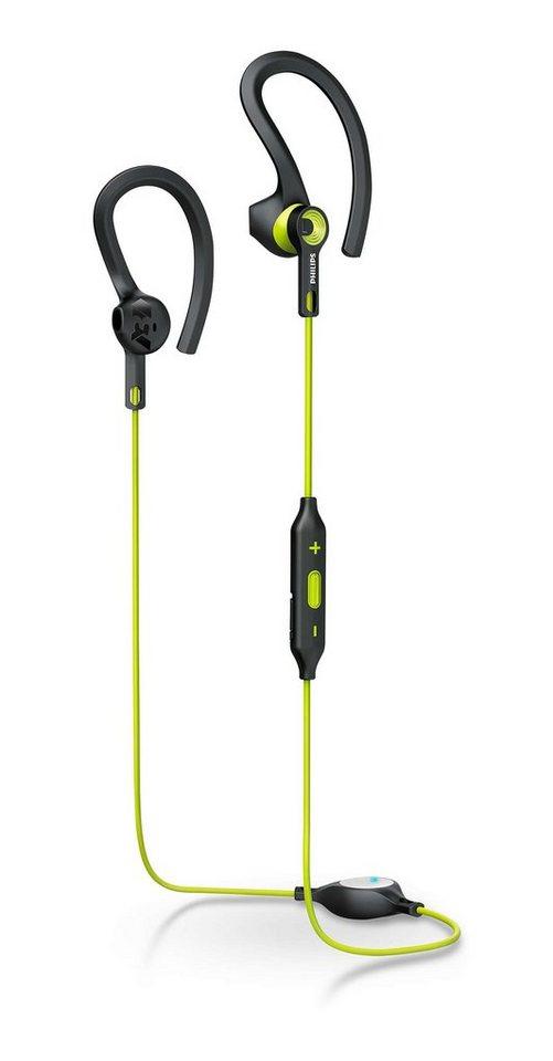 Philips Sport Bluetooth InEar Kopfhörer »SHQ7900/00« in grau/grün